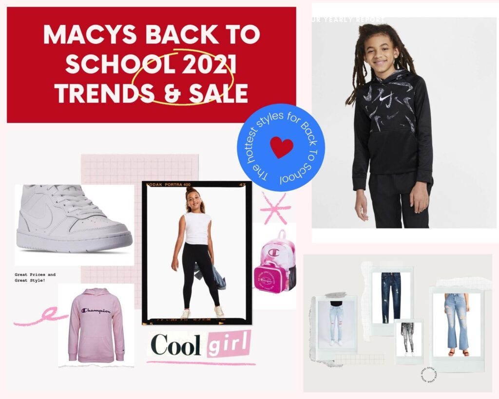 Macy's Back to School Shopping Guide – 50% + Extra 20% Off!