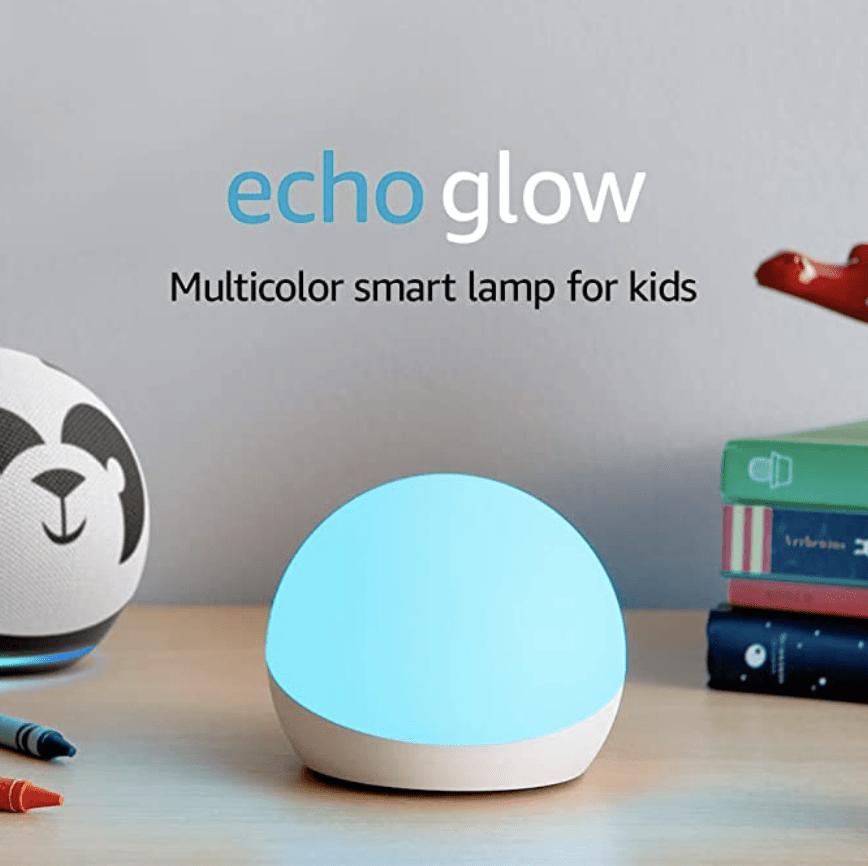 Amazon Echo Glow – On Sale for $19.99