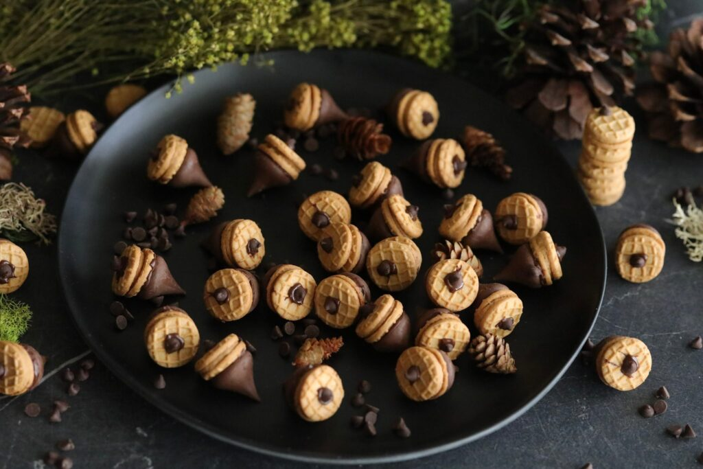 Acorn Cookies – No Bake Cookie Recipe! So Cute For Fall
