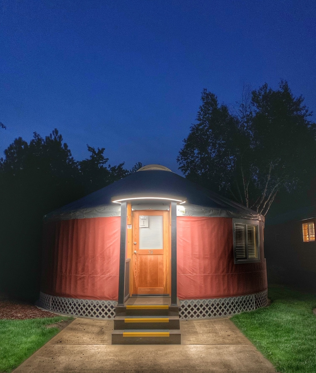 Yurts at Seven Feathers RV resort