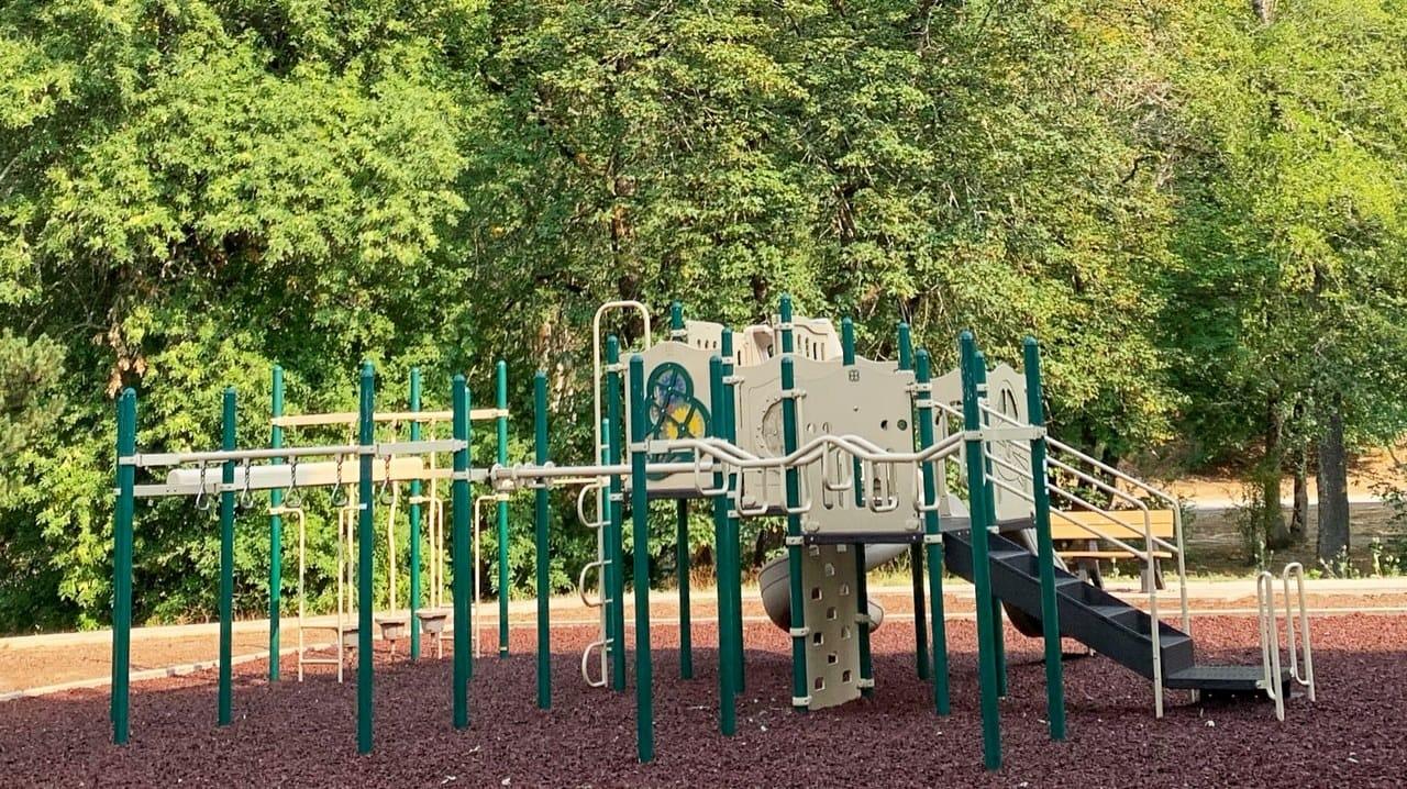 kids playground at rv park