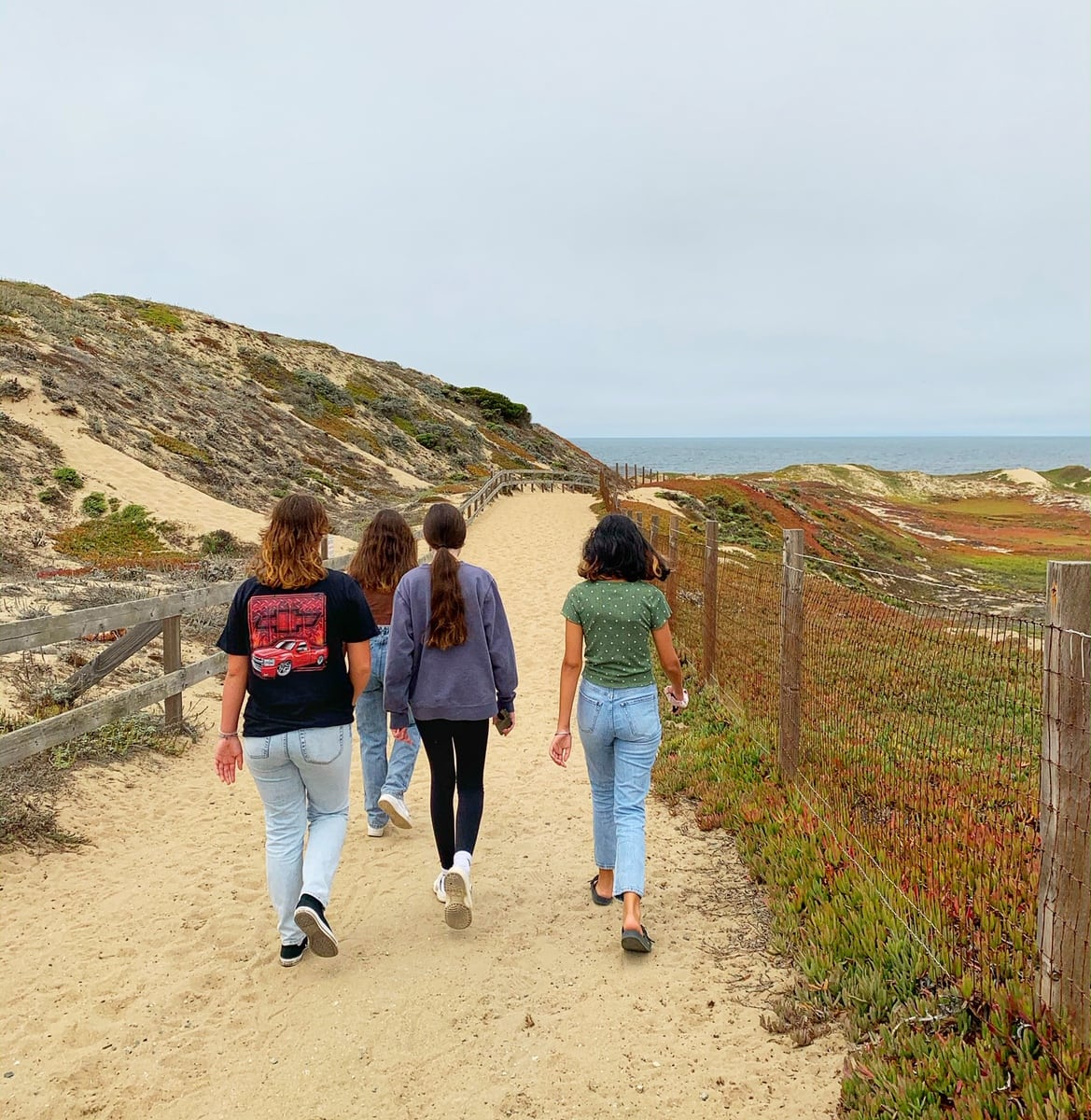 Marina Dunes RV Park Beach Access Trail