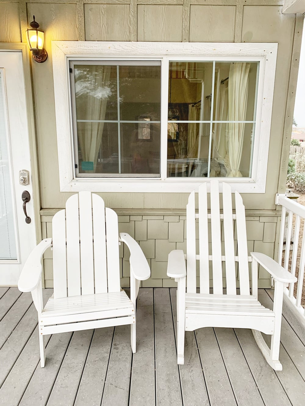 front porch on cottage