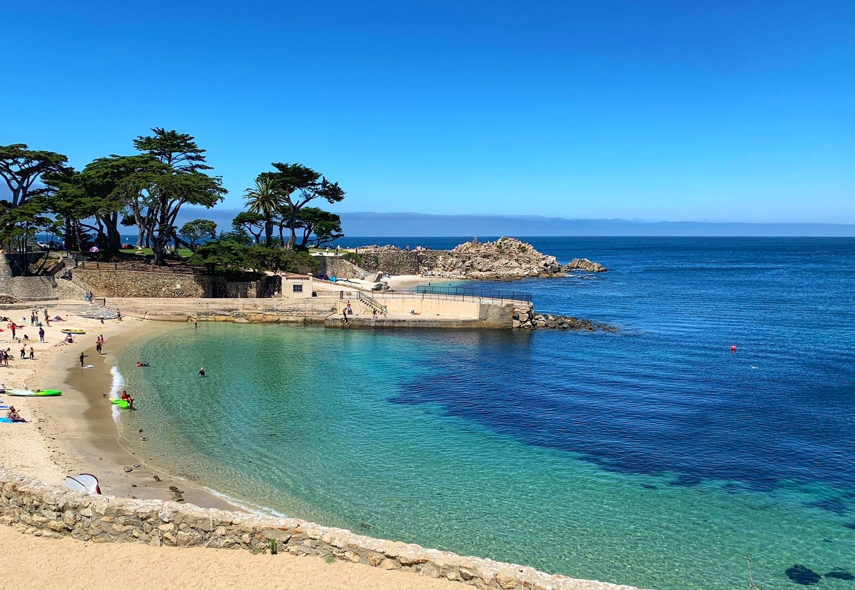 Lovers Bay Park Monterey