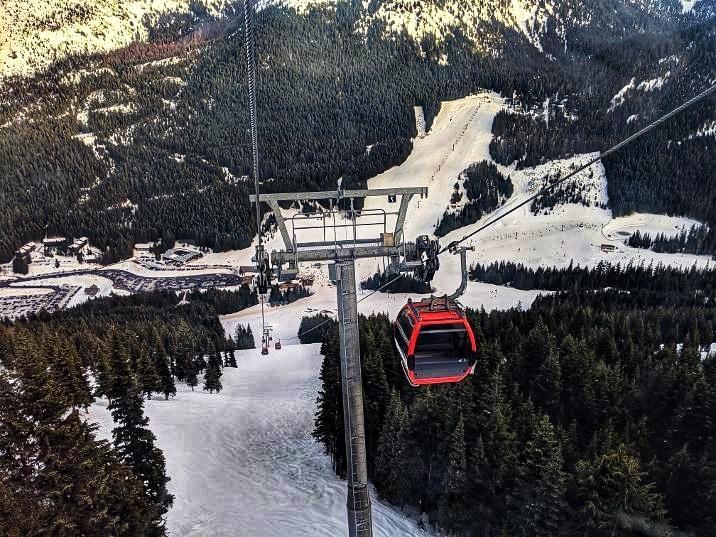 crystal mountain gondola ride