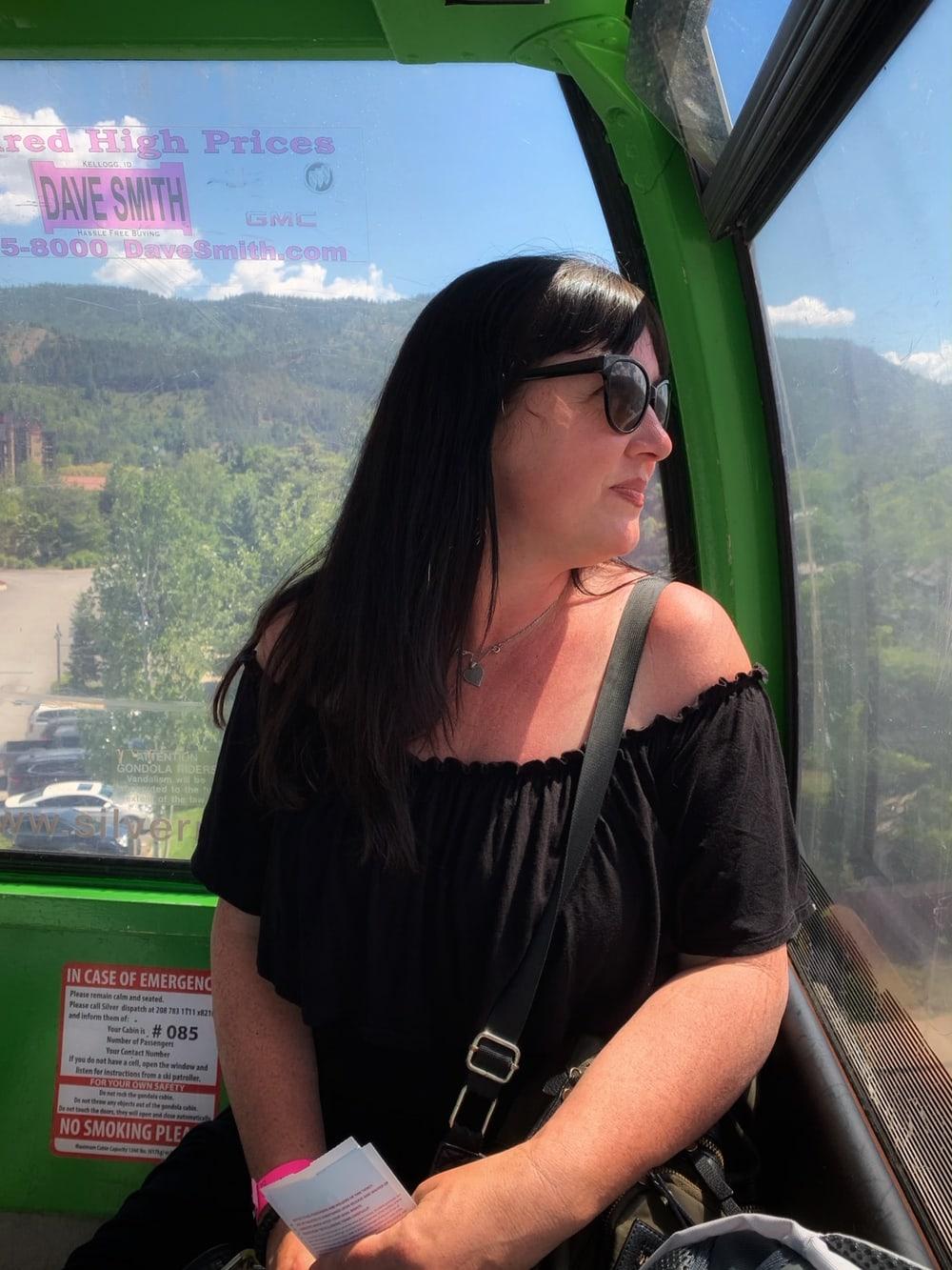 silver mountain gondola