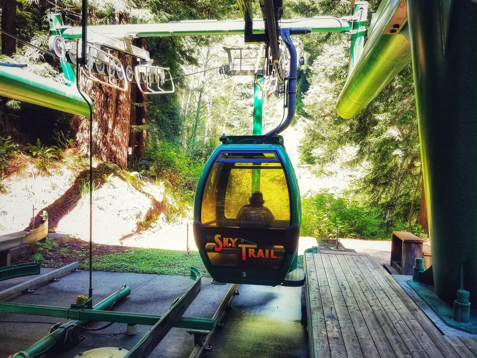 Skytrail Gondola at Trees of Mystery