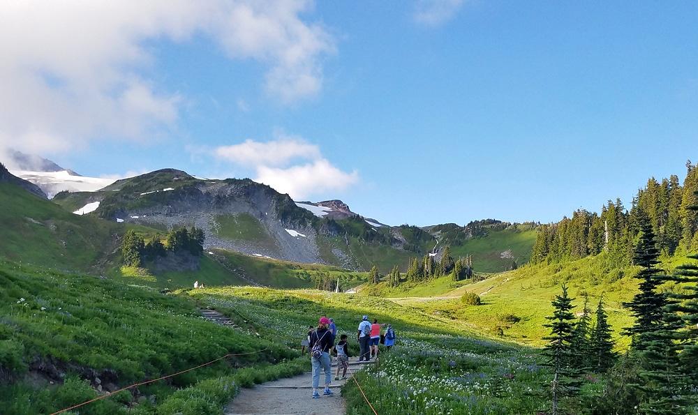 Mount Rainier Golden Gate Trail