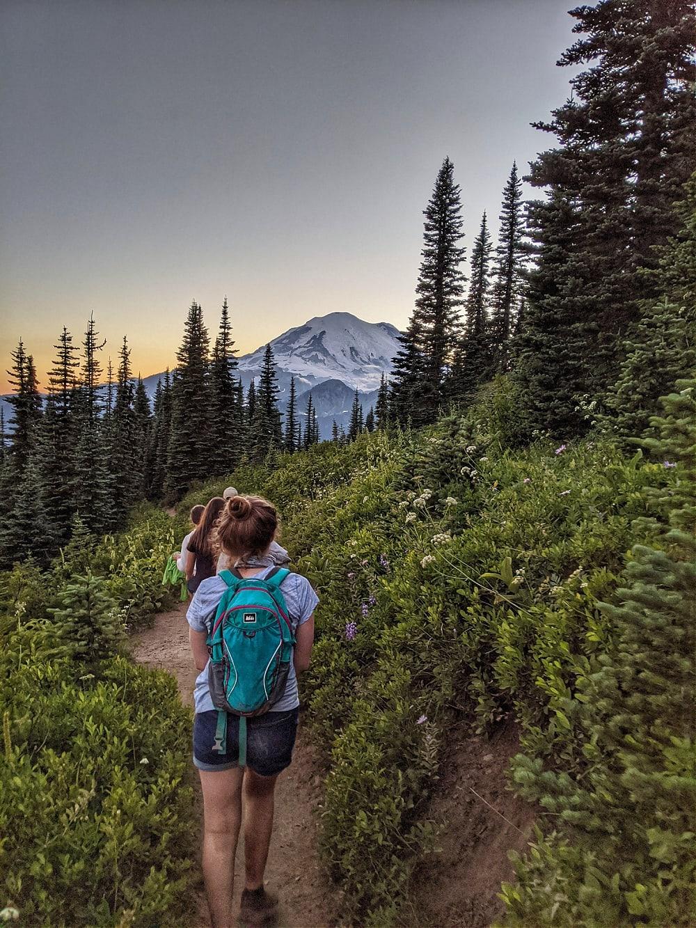 Naches Peak Trail Hike