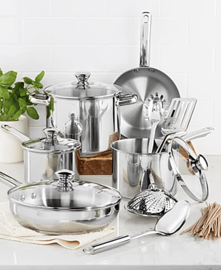Tools of the trade stainless cookware set
