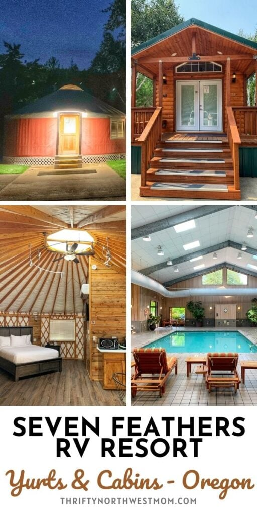 Seven Feathers RV Resort – New Yurts & Cabin Rentals in Oregon!