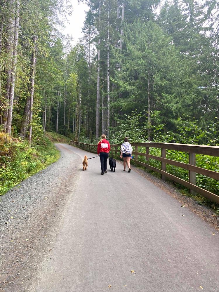 Spruce Railroad Trail Walk