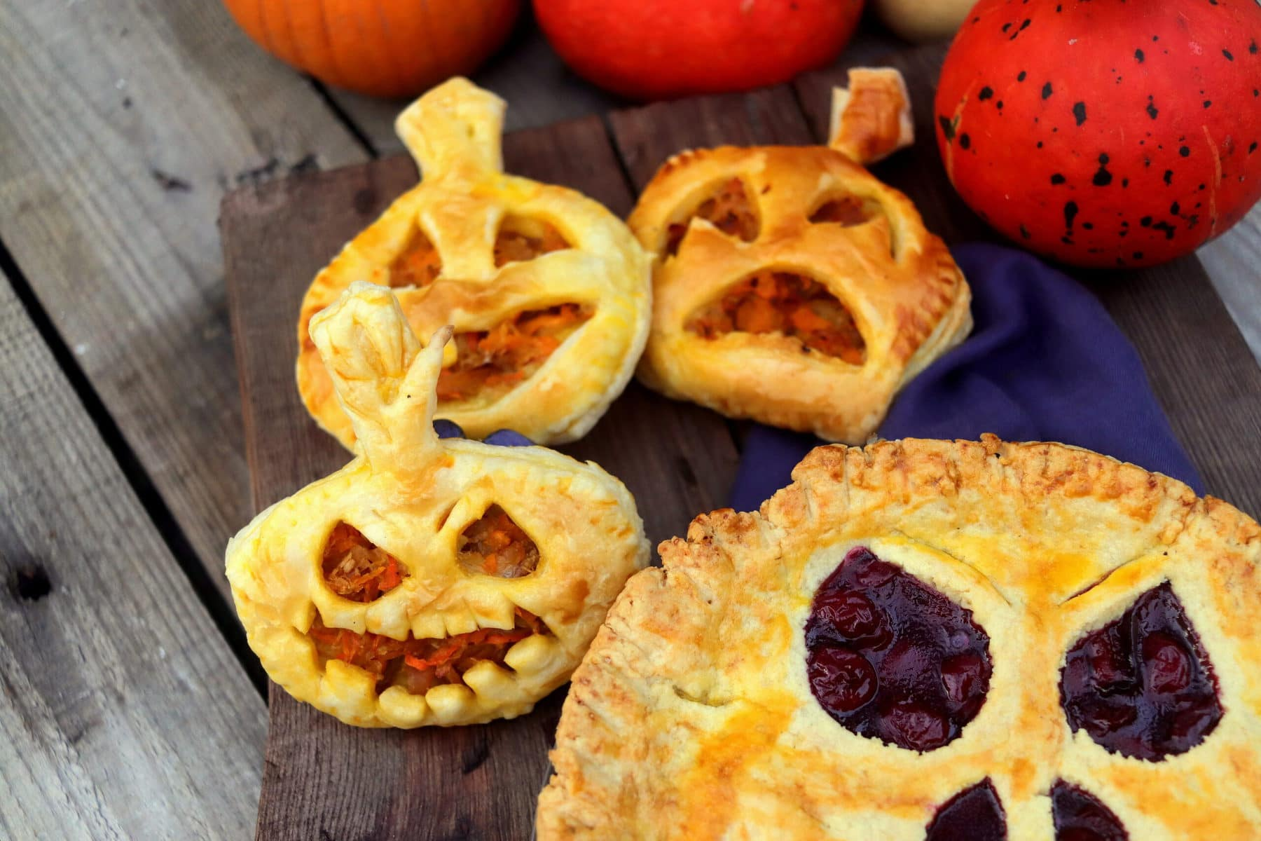 How to make a Halloween pie