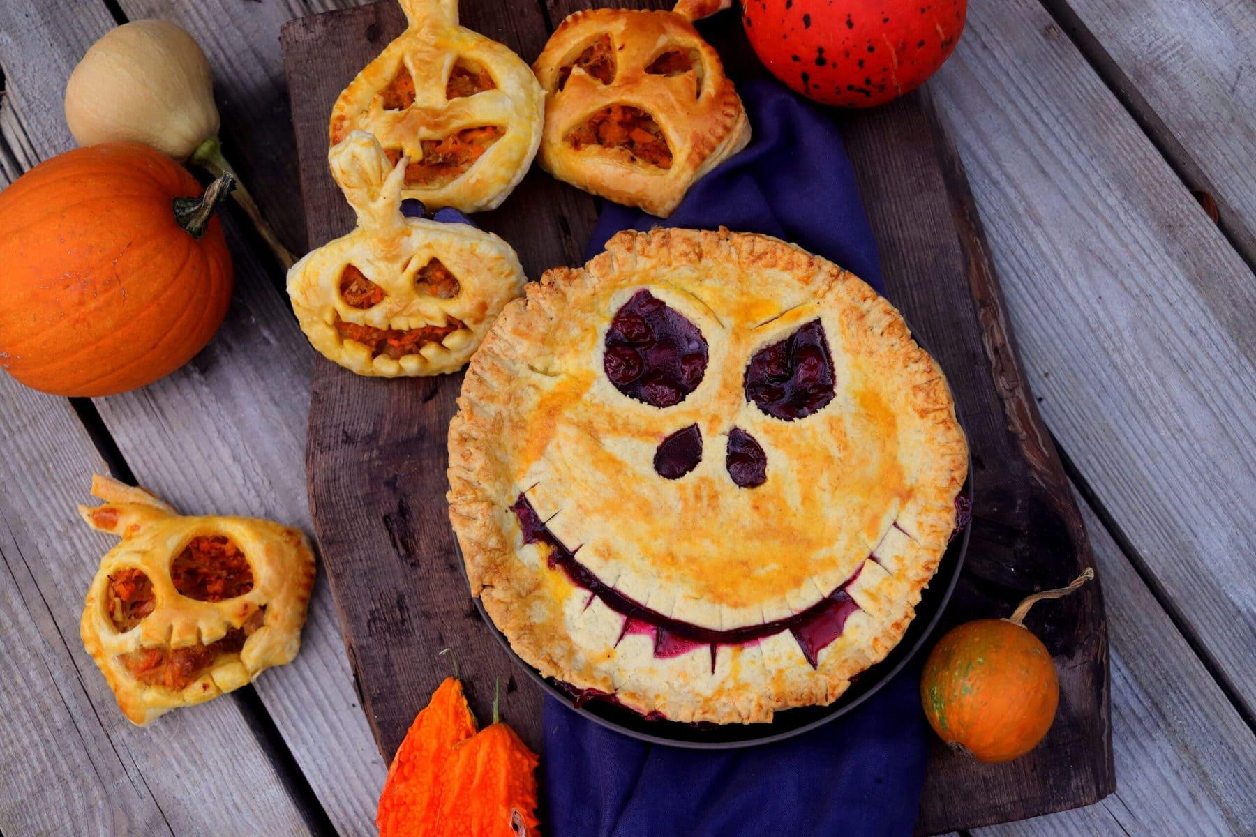 Sweet and Savory Halloween Pies
