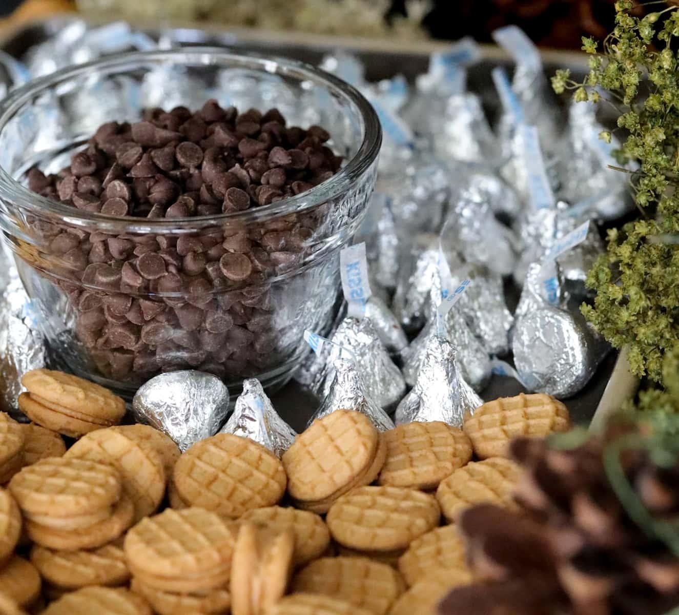 how to make acorn cookie treats