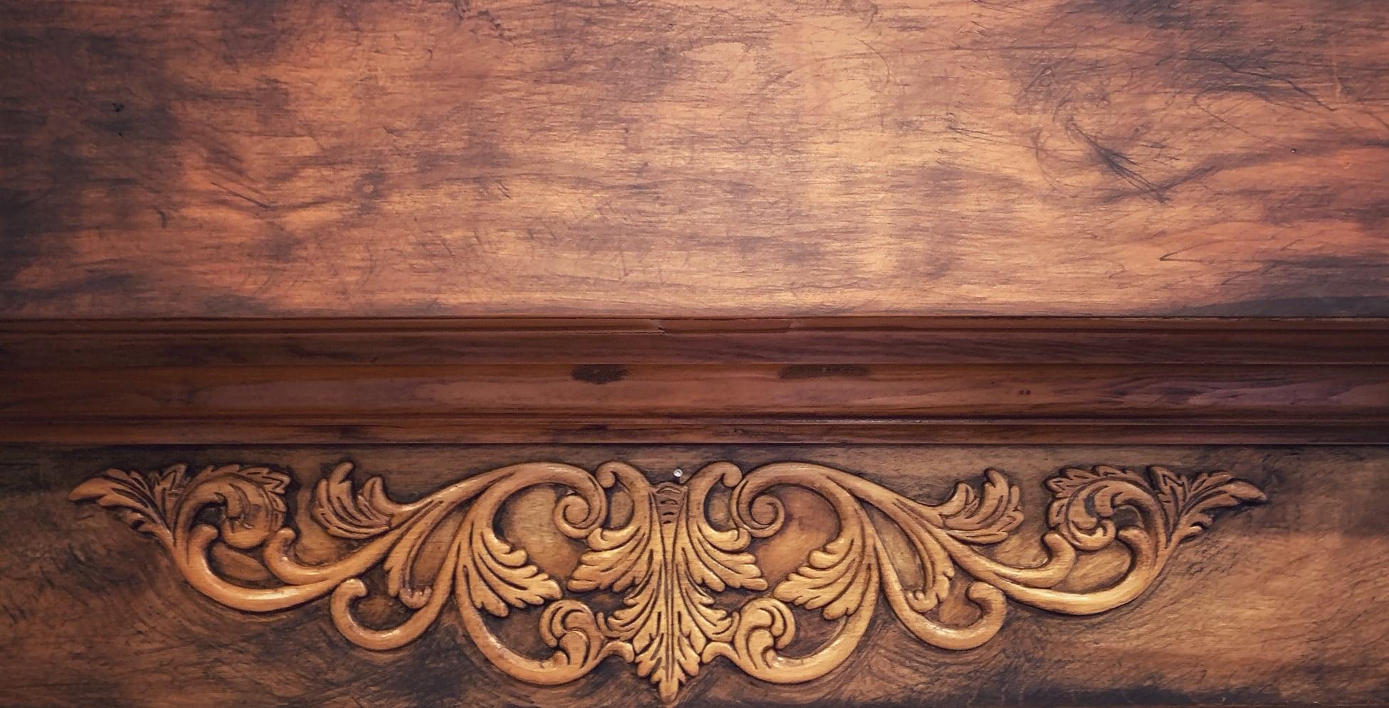 ornamental wood applique