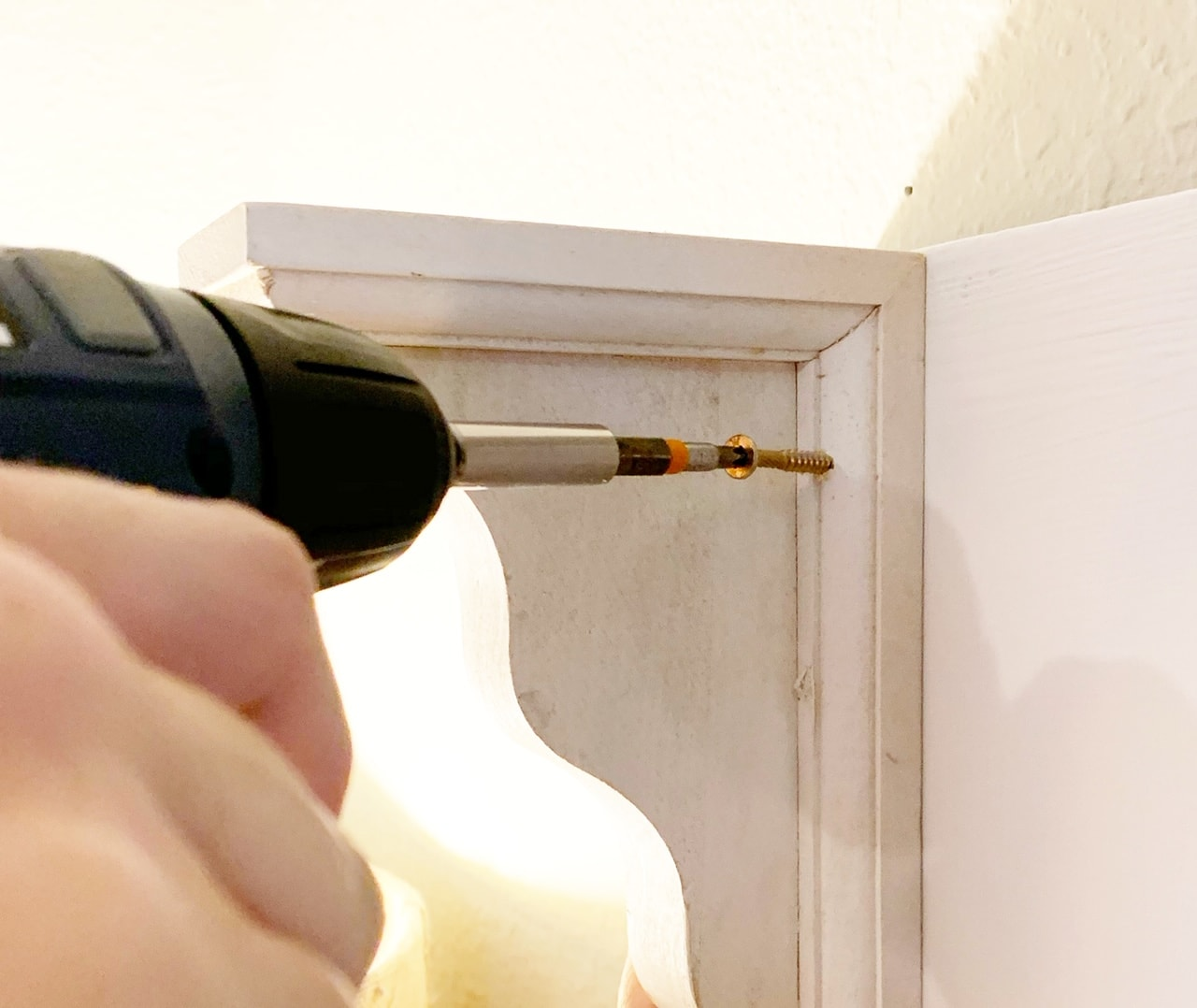 how to make your own cheap headboard