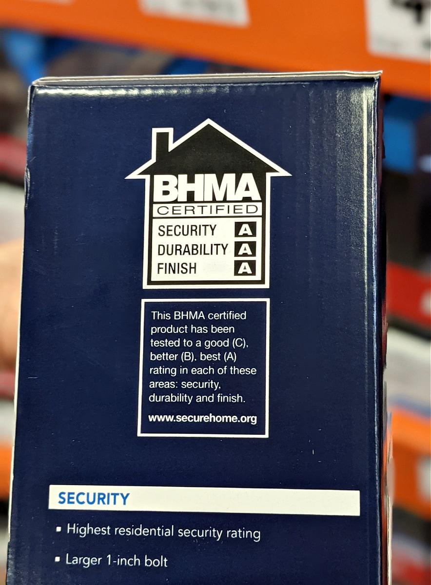 BMA Secure Home Logo