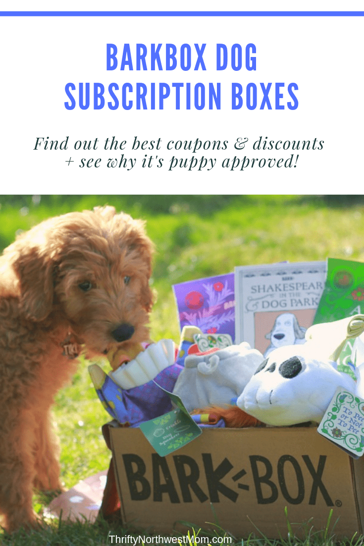 BarkBox Dog Subscription Boxes