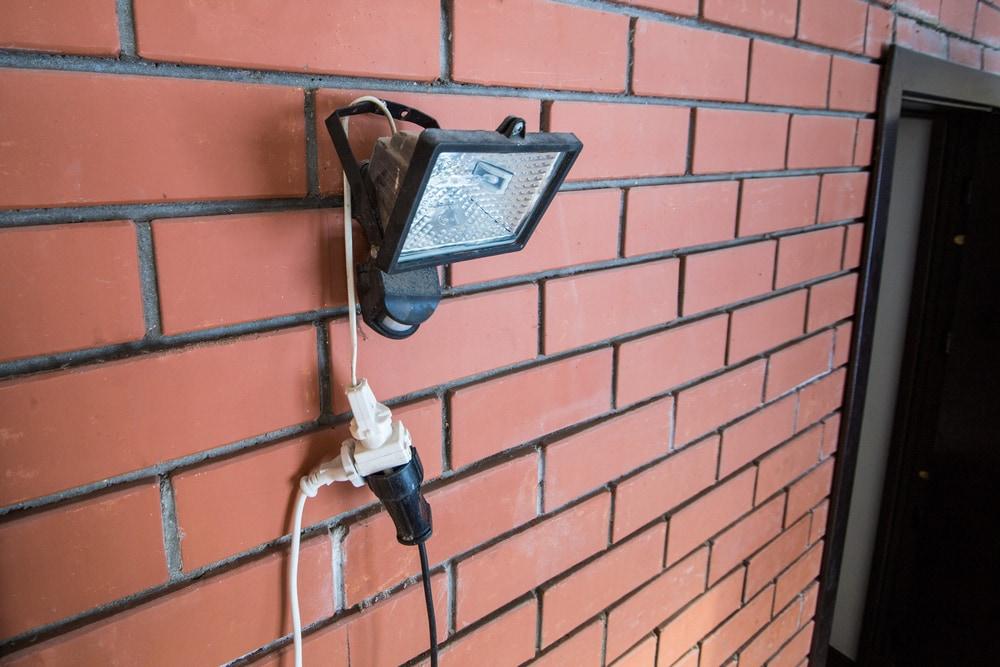 Motion sensor light for outdoors