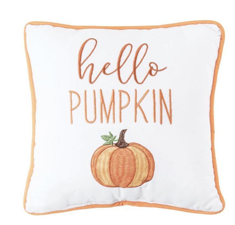 Hello Pumpkin Pillow
