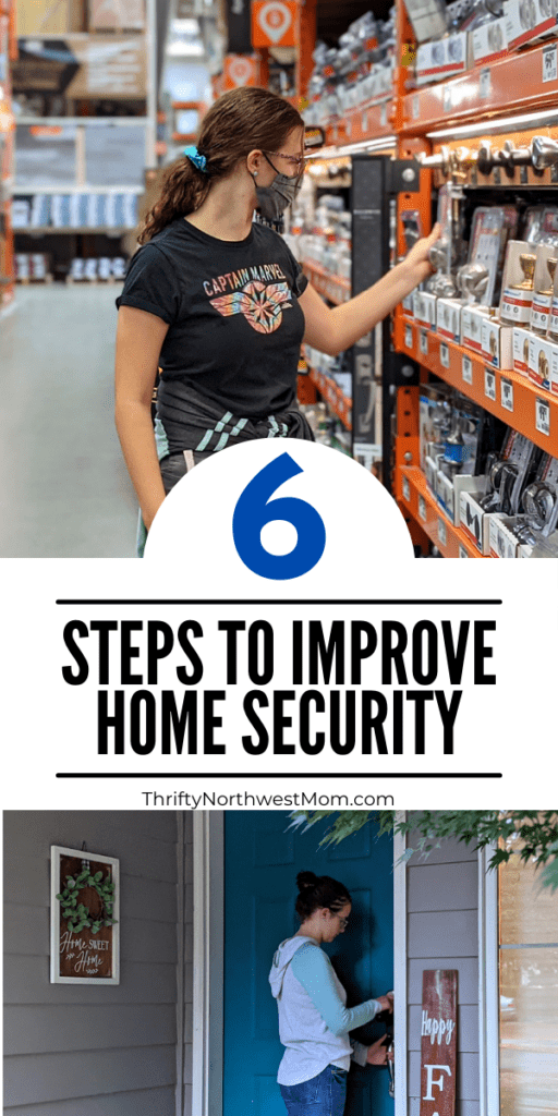 6 Steps to Improve your Home Security