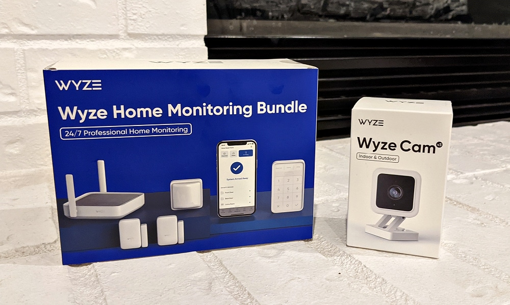 Wyze Home Monitoring Bundle and Wyze Cam