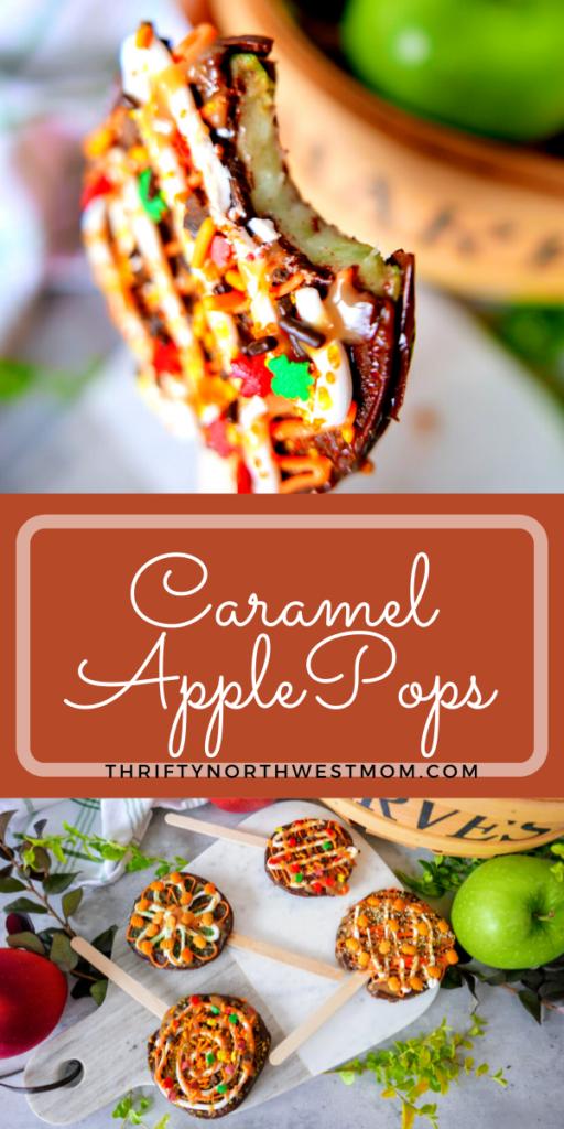 Caramel Apple Pops Recipe – Kid Friendly + Less Mess!